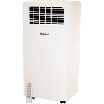 12,000 BTU Single-Exhaust Portable Air Conditioner with Remote Control in White - WHAP121AW