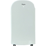 13,000 BTU Portable Air Conditioner with 11,000 BTU Supplemental Heat and Remote Control in White - WHAP13HAW