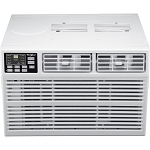 Energy Star 18,000 BTU 230V Window-Mounted Air Conditioner with Heat