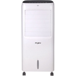 214 CFM Indoor Evaporative Air Cooler with Remote Control and Ice Packs in White - WPEC12RGW