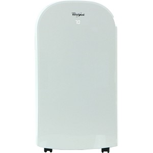 14,000 BTU Single-Exhaust Portable Air Conditioner with Remote Control in White - WHAP141AW