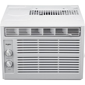 5,000 BTU Window Air Conditioner with Mechanical Controls - WHAW050BW