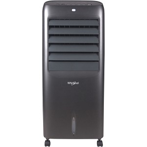 214 CFM Indoor Evaporative Air Cooler with Remote Control and Ice Packs in Titanium - WPEC12RGT